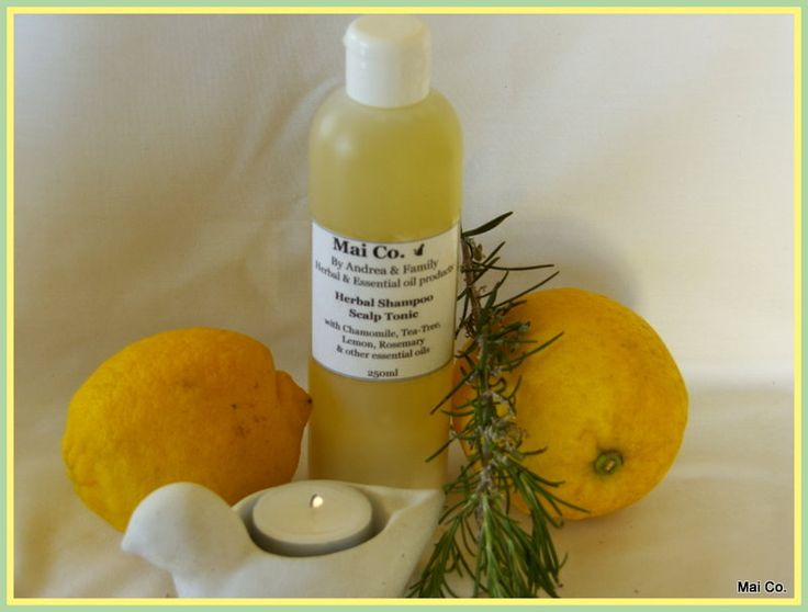 Mai Co Scalp Tonic Shampoo - helps for issues related to Dandruff and Dry Scalp. With Lemon, Tea-tree, Chamomile and Rose Geranium Essential oils