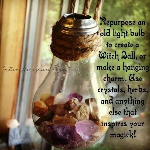 Hanging charm/witch ball