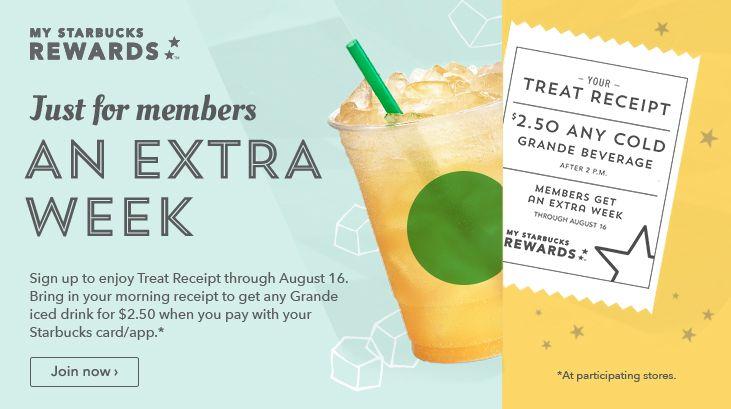 My Starbucks Rewards™ | Starbucks Coffee Company