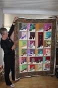 shoe quilt: Photo
