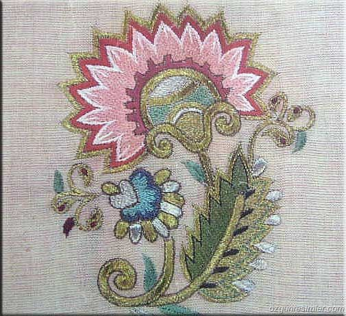 Turk work embroidery...#embroidery #@Af's 22/4/13