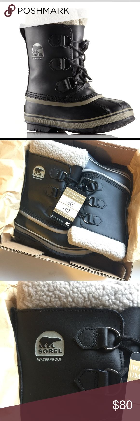 Sorel Snow Boots Heavy to ship brand new in box water proof best snow boots ever for your little man #sorel Sorel Shoes Rain & Snow Boots