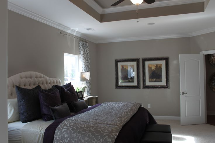 Huge 15 x 19 master bedroom with tray ceiling bedroom Master bedroom ceiling colors
