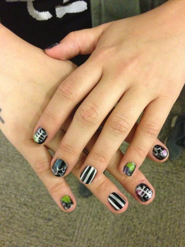 143 best Celeb Nails images on Pinterest | Nail polish, Gel polish ...