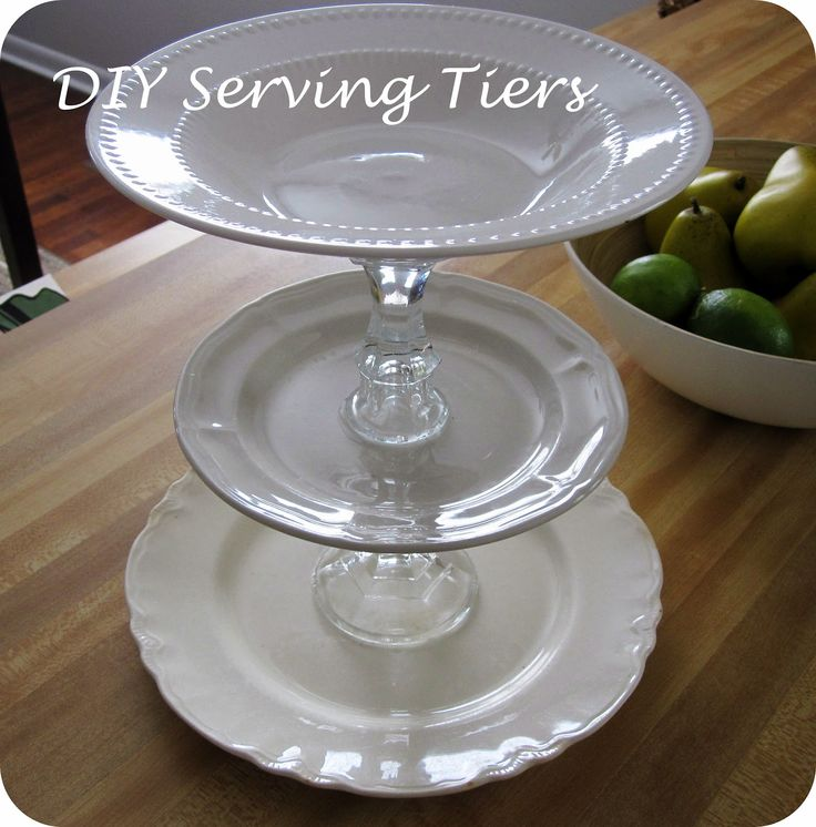 DIY Tiered Serving Trays | Entertaining & Parties ...