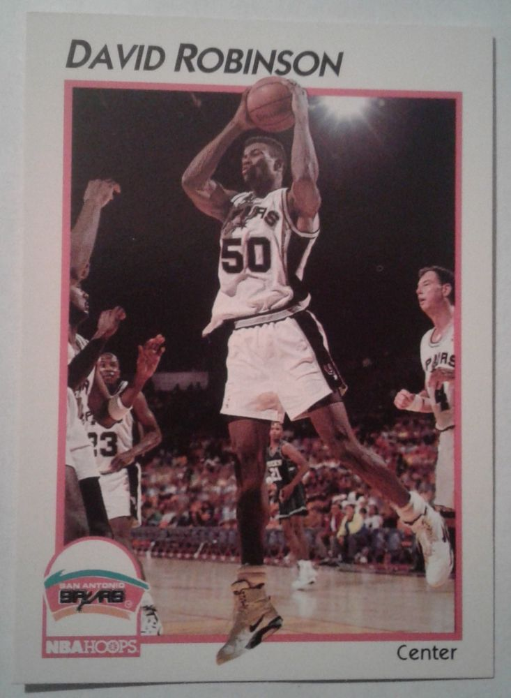 Details About 1991 92 Nba Hoops Mcdonalds 41 David