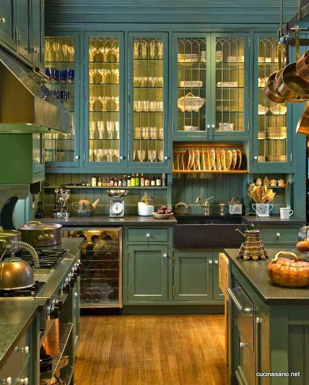 Oltre 25 fantastiche idee su Mobili da cucina turchese su ...