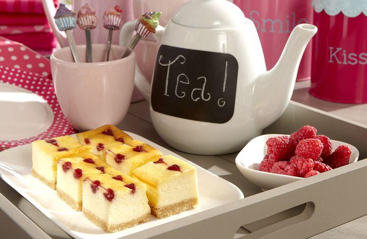 Verwen Cheesecake met hartjes  recept | Dr. Oetker
