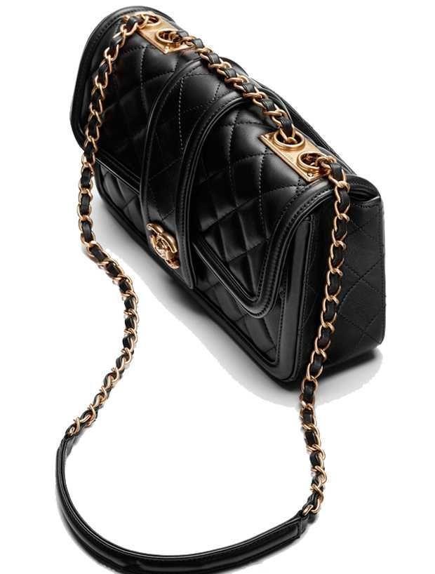 017177a32b74 Borsa Chanel nera #Chanelhandbags | Chanel handbags