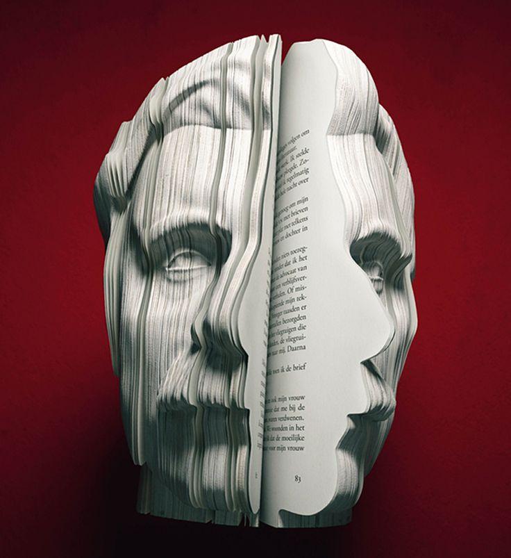 3D written portrait books - designboom