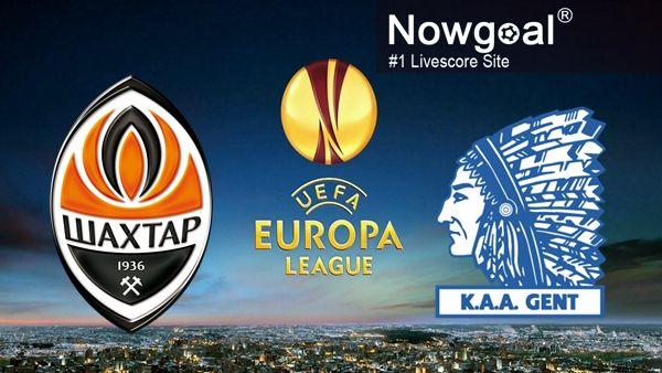 UEFA Europa League / FC Shakhtar Donetsk VS KAA Gent -- 1st Half 1 (-0.25AH) @ 1.57