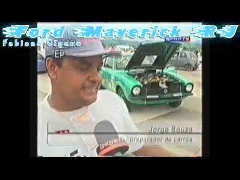 Ford Maverick Rj 302 v8 GT arrancada rj arranca rio Autodromo Jacarepagua nelson piquet velozes furiosos maverick fast and furious mustang Lamborghini Corvette dragster dodge muscle car burnout borrachão força livre