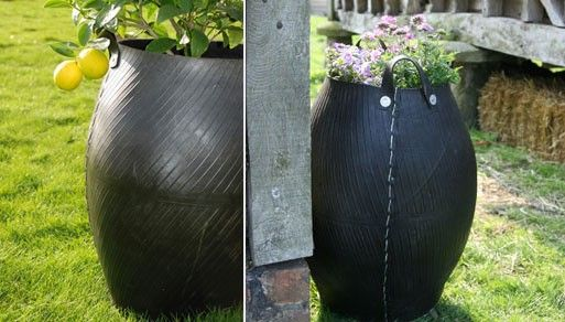 Outdoor Accessories — Better Living Through Design recycle tire planter