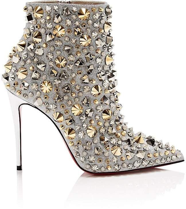 Full Kate Glitter Ankle Boots