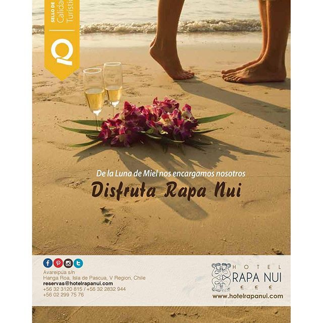 For that special moment, Rapa Nui is your choice Honeymoon http://owl.li/zERU302Y2iJ
