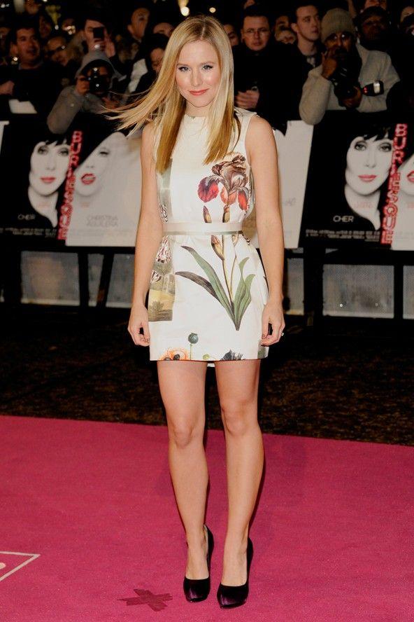 Kristen Bell; Mini Dress