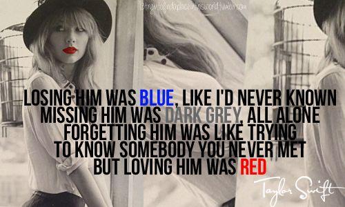 taylor+swift+lyrics+red   taylor swift # red # lyrics # 13tryintofindaplaceinthisworld.tumblr ...