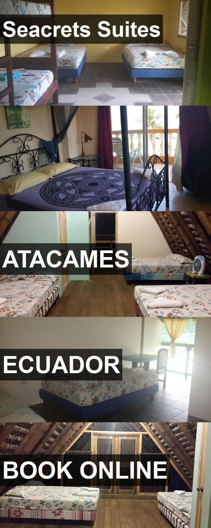 Hotel Seacrets Suites in Atacames, Ecuador. For more information, photos, reviews and best prices please follow the link. #Ecuador #Atacames #travel #vacation #hotel