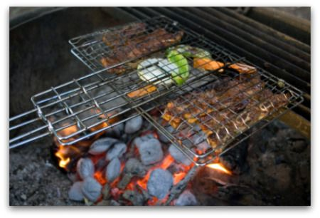 Campfire Cooking Recipes - lots on this site!