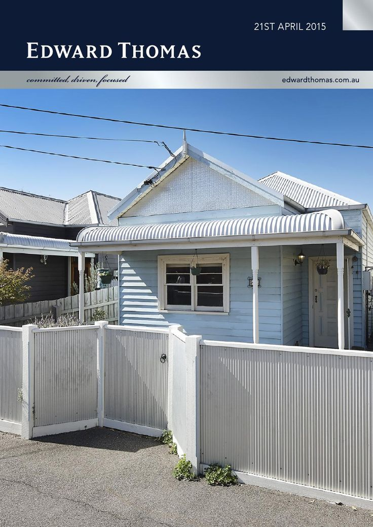 We have given a viewing of this charming Footscray three bedroom home two days ago. It will be on auction Saturday, May 16th. Excellent choice for market entrants and investors. Find out more about it in our weekly e-mag http://bit.ly/1IJGUmE