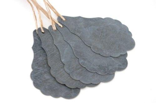 Pampille en zinc