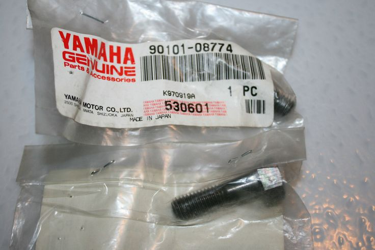 nos Yamaha snowmobile rear suspension bolt vmax 500 600 700 mm srx venture sxr