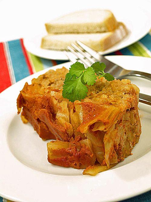 Gołąbki obiadowe tradycyjne bez zawijania najlepsze na świecie + film video HD