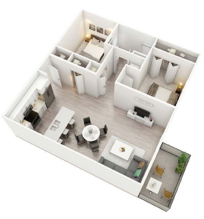 Thedale Floorplan 3d Sims House Plans Sims House Design Architectural House Plans