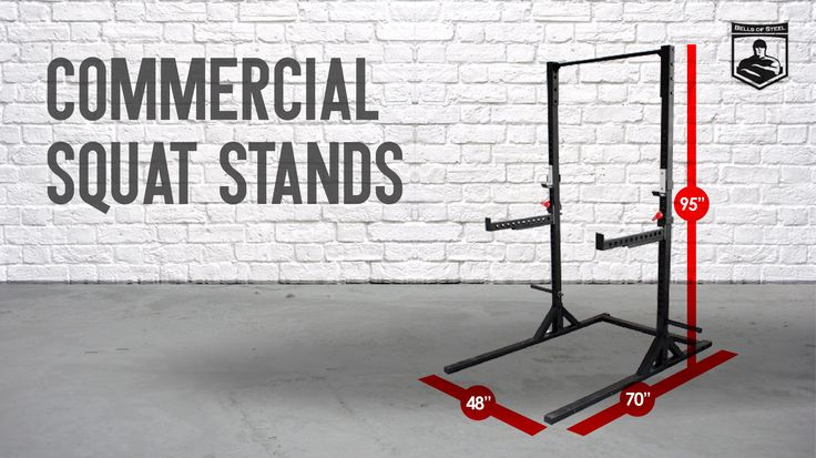 The ideal rack/stand hybrid for small home gyms and commercial facilities where space is limited. Quickly transition from squats to bench, floor press to pull-ups, anything else your heart desires. Includes plate storage, a wide base to prevent shaking when doing chin ups, and spotter arms.
