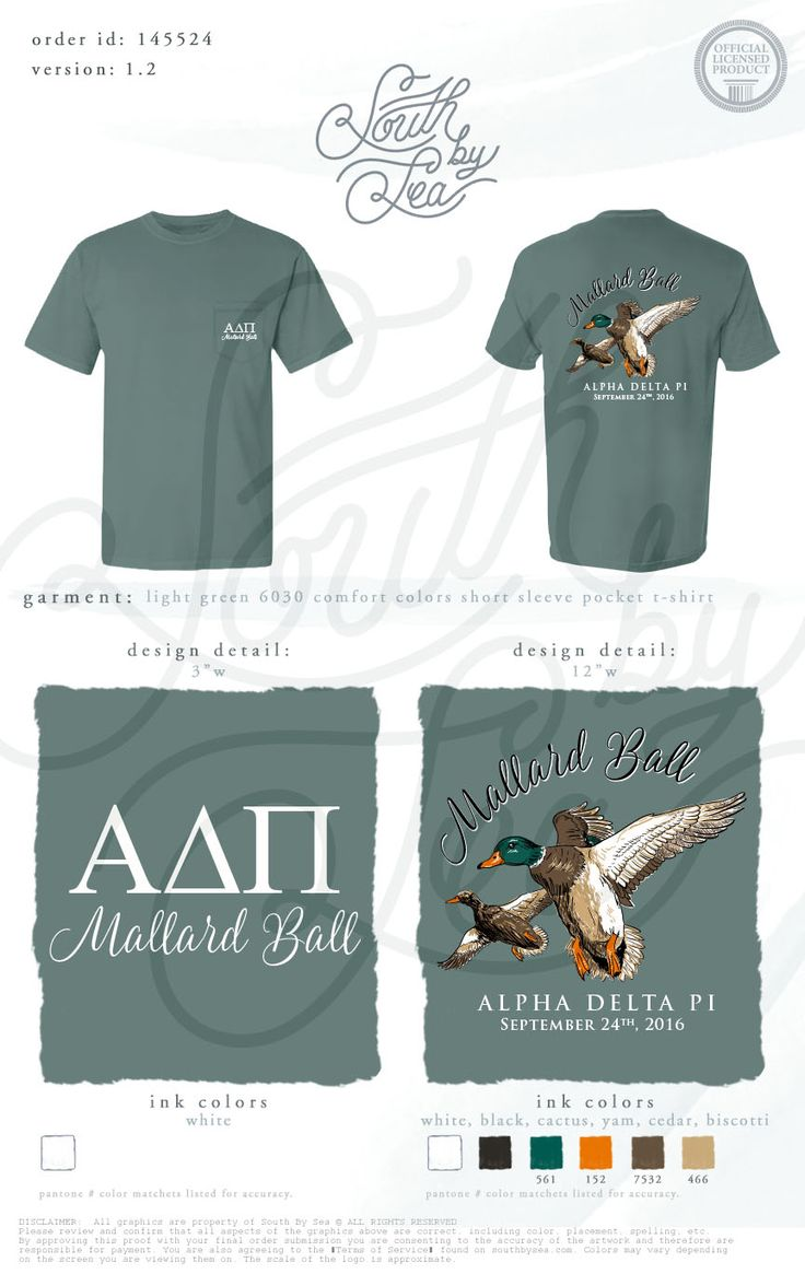 Alpha Delta Pi | ADPi | Mallard Ball | Formal T-Shirt Design | Social | Date Night | Sisterhood | South by Sea | Greek Tee Shirts | Greek Tank Tops | Custom Apparel Design | Custom Greek Apparel | Sorority Tee Shirts | Sorority Tanks | Sorority Shirt Designs