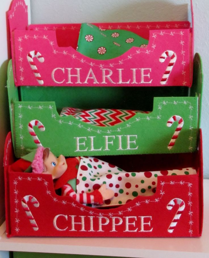 Elf doll bed,Christmas Elf, Personalized elf bed, Christmas elf doll,Christmas shelf elf,elf accessories,Holiday elf toy, elf doll props by WindaBobbin on Etsy https://www.etsy.com/listing/474520275/elf-doll-bedchristmas-elf-personalized                                                                                                                                                                                 More