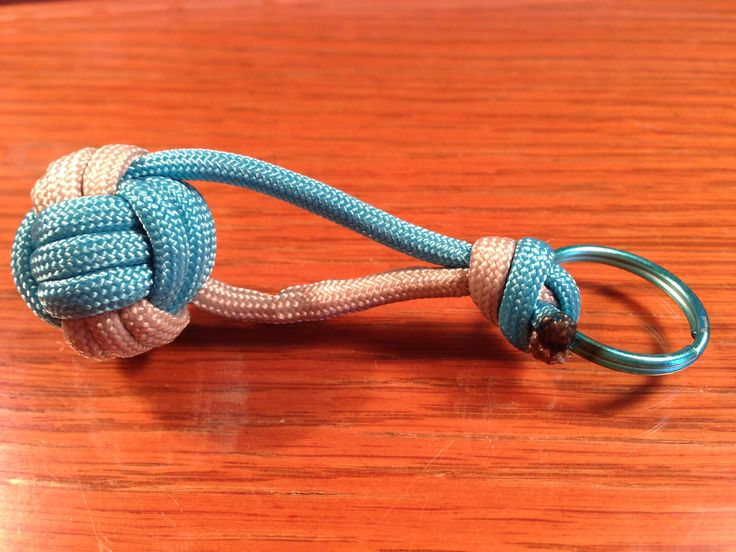 Paracord Volleyball Keychains