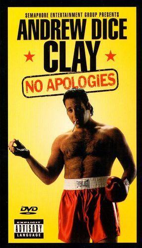 Andrew Dice Clay: No Apologies [DVD] [1993]
