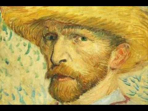 "Great video  by Philip Scott Johnson    Vincent Van Gogh  Dutch Artist  1853-1890    ""Self Portraits"""