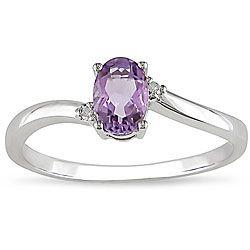 cool amethyst ring