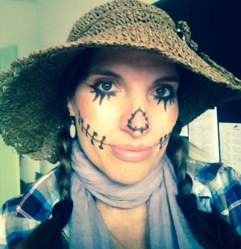 easy halloween face painting idea wwwartlessonsforkidsme - Easy Face Painting Halloween