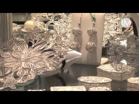 Filigranart Orecchini ad elica LGFil007 ItalyMood com - YouTube