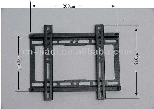 ТЕЛЕВИЗОР настенное крепление для LCD/LED/PDP Фиксированный настенный кронштейн для ТЕЛЕВИЗОРА 17 -37