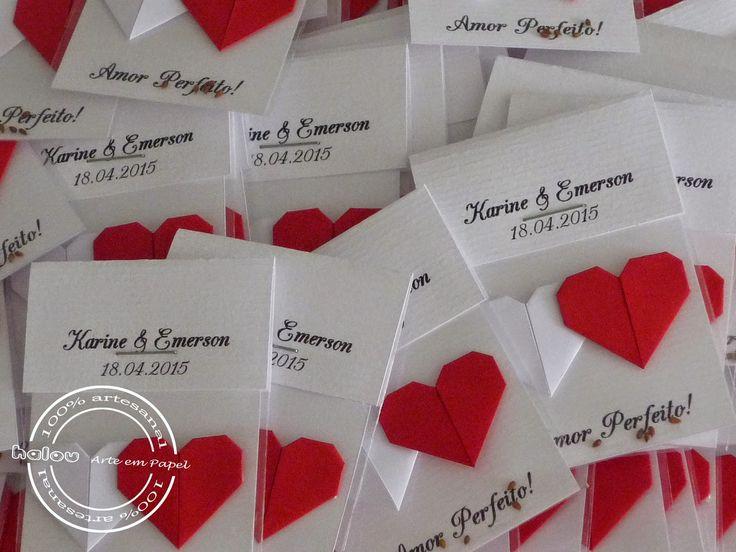 Halou Arte em Papel que tal distribuir sementes de Amor Perfeito, como lembrancinhas de casamento?