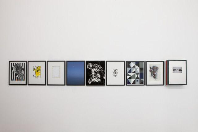 Matthias Bitzer, 'Phosphor Notes (Hypomnema),' 2013, Francesca Minini