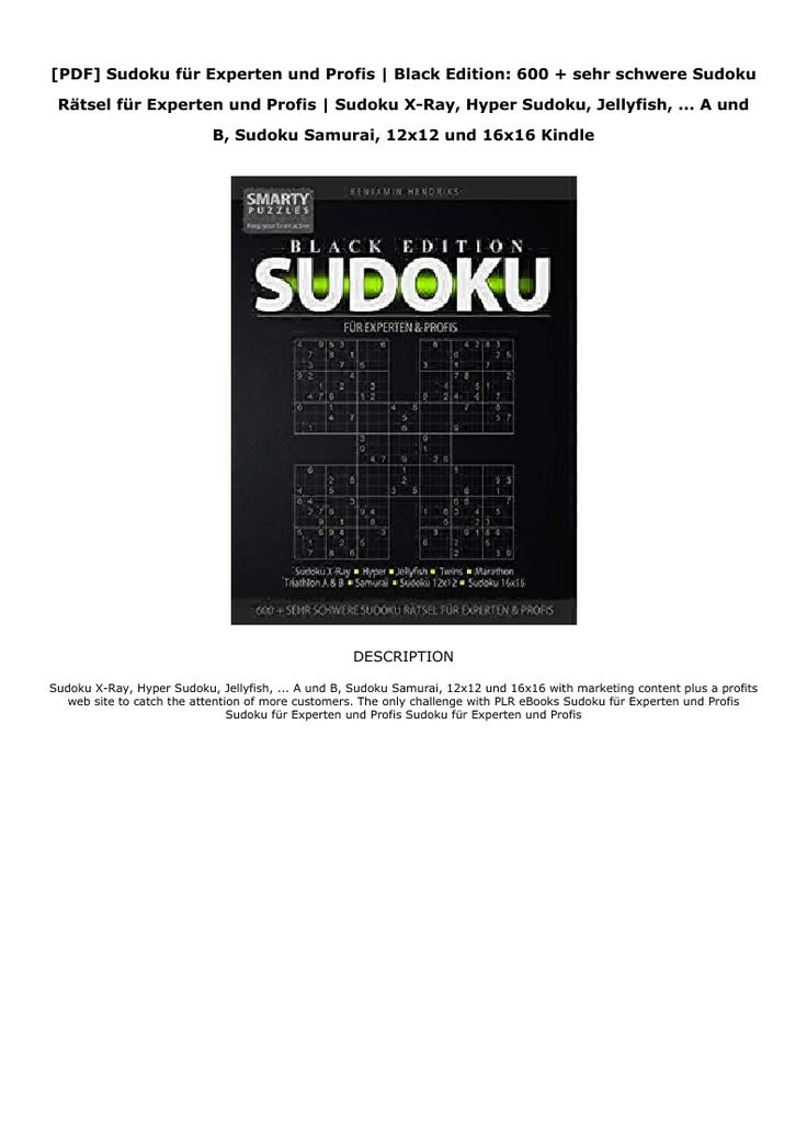 Sudoku FГјr Experten