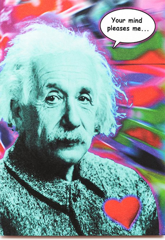 15 best freud cards images on pinterest funny cards funny maps funny einstein love card is crafted in popliments copyrighted psychedelic pop art style inspired bookmarktalkfo Images