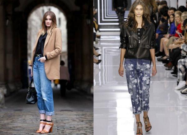 Модные джинсы-бойфренды 2017