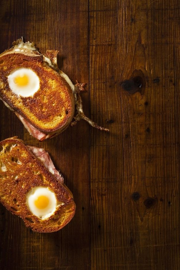 And there's an amazing egg sandwich in the cookbook. | How A Genius Makes An Egg Sandwich