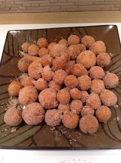 Cinnamon Sugar Donuts. Deep fryed and rolled in cinnamon sugar, this homemade donuts recipe is guaranteed to please