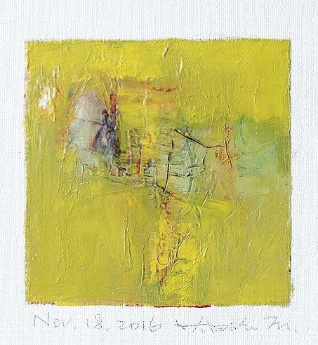 Nov. 18 2016  Original Abstract Oil Painting  by hiroshimatsumoto                                                                                                                                                                                 More