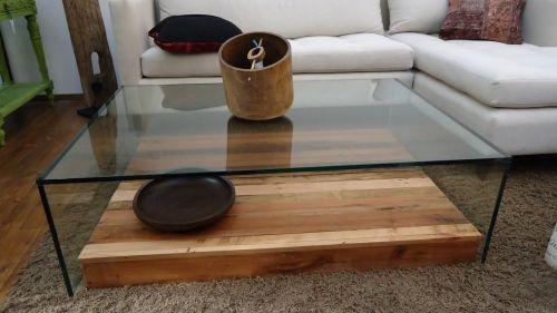 Bandejas de madera con vidrio buscar con google mesas for Bandejas de madera