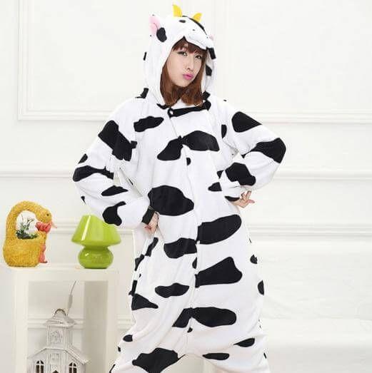 Cow Pajama Onesie for adults  #juscute #cute #onesie