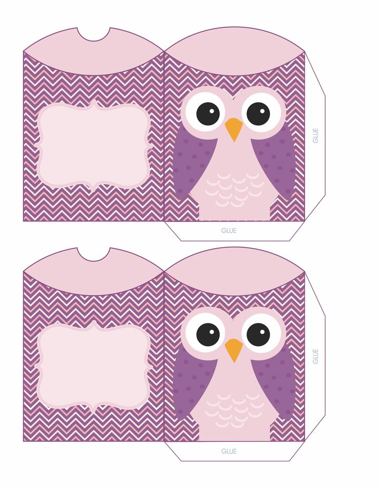 25 best owl printable free ideas on pinterest owl for Owl pillow box template