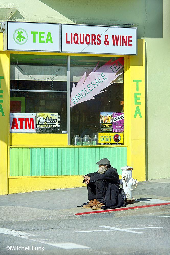 Liquors&Wine Tenderloin, San Francisco By Mitchell Funk  www.mitchellfunk.com
